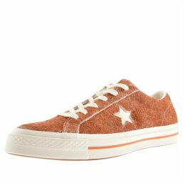 Converse One Star Suede Trainers Brown
