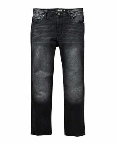 Loose Blackwash Jeans