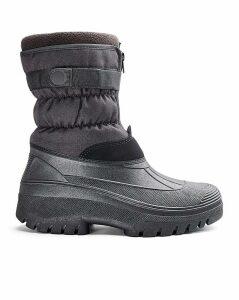Zip Snow Boot Standard Fit
