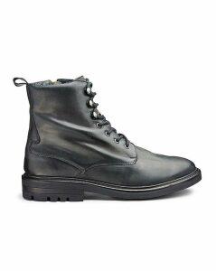 Jacamo Leather Military Boots