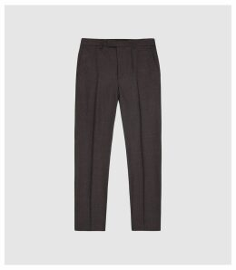 Reiss Wanderer - Modern Fit Tailored Trousers in Grey, Mens, Size 38