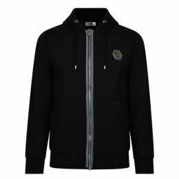 BALR Logo Zip Hooded Sweatshirt