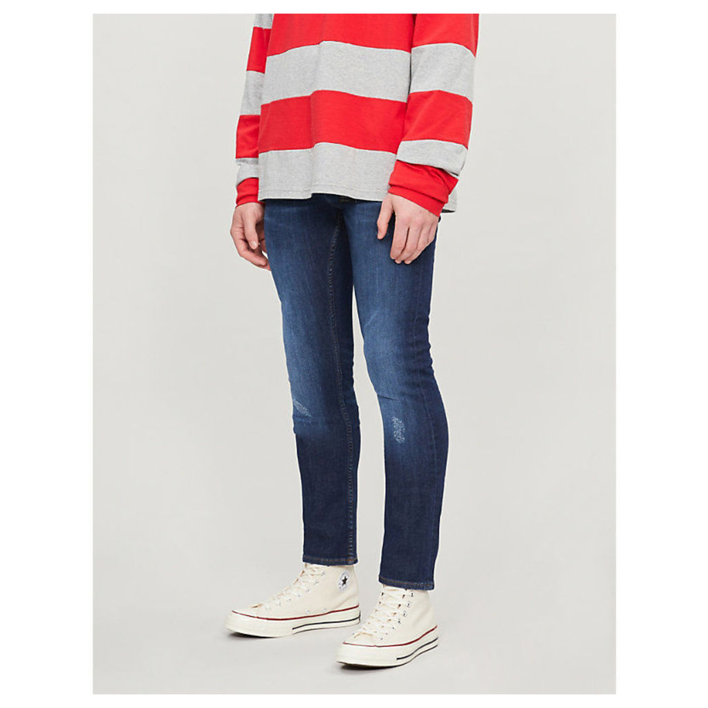 Layton distressed extra slim-fit jeans