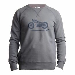 Tonn - Grey Bike Surfer Sweatshirt