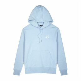 J.Lindeberg Hurl Blue Hooded Cotton Sweatshirt