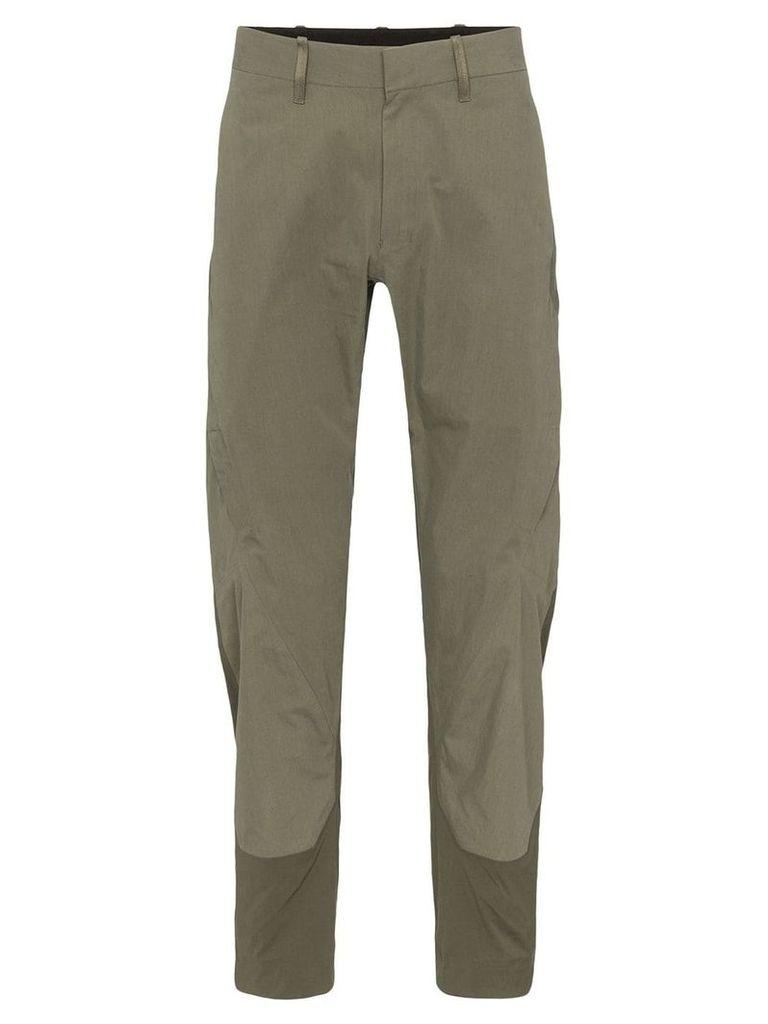 Arc'teryx Veilance Apparat straight trousers - Green