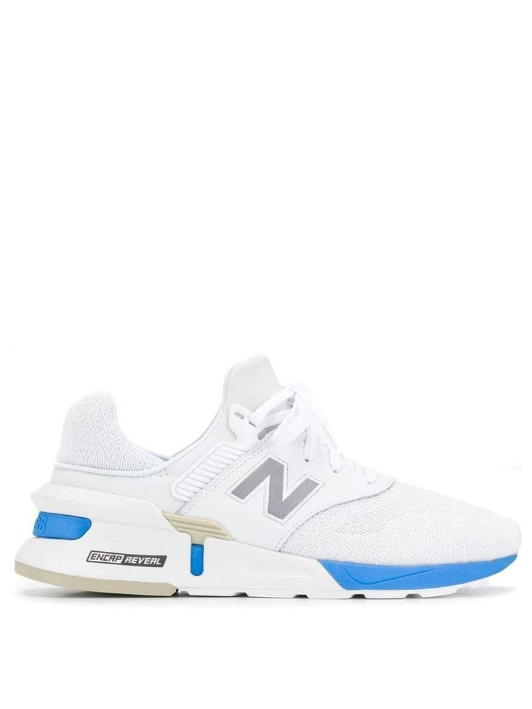 New Balance low lace-up sneakers - White