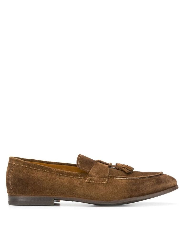 Doucal's Mocassin loafers - Brown
