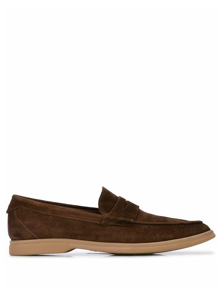Brunello Cucinelli slip-on loafers - Brown