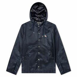 Maison Kitsuné Toni Hooded Jacket Navy