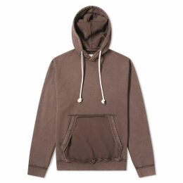 Maison Margiela 14 Cut Out Pocket Hoody Taupe Grey