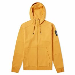 The North Face Fine 2 Full Zip Hoody Citrine Yellow
