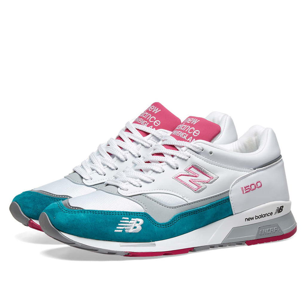 New Balance M1500WTP - Made in England Green, White & Fuschia