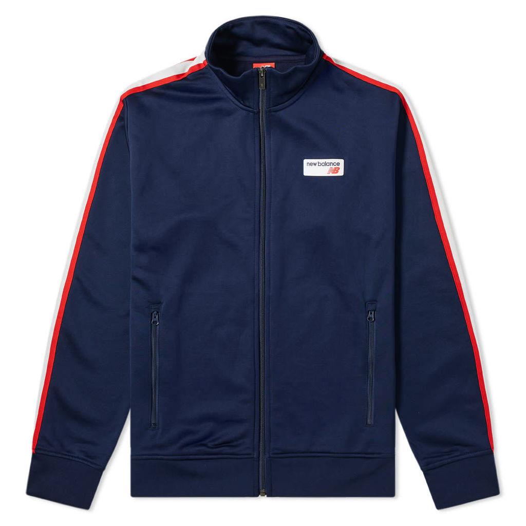 New Balance Athletics Track Jacket Navy