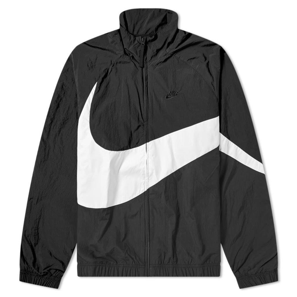 Nike Big Swoosh Woven Jacket Black & White