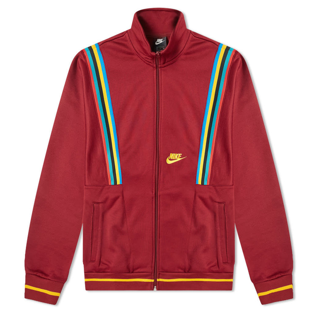 Nike Re-Issue Track Jacket Red & Gold