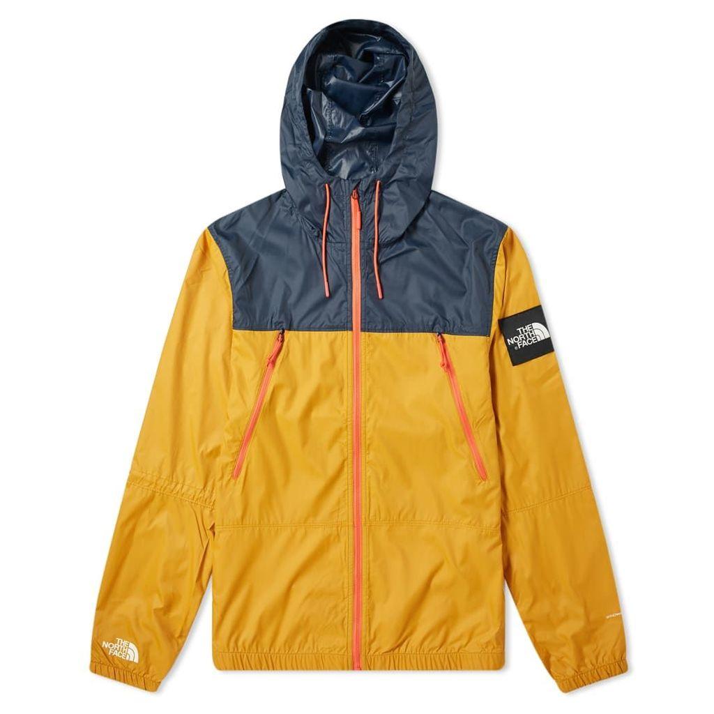 The North Face 1990 Seasonal Mountain Jacket Citrine Yellow & Urban Navy