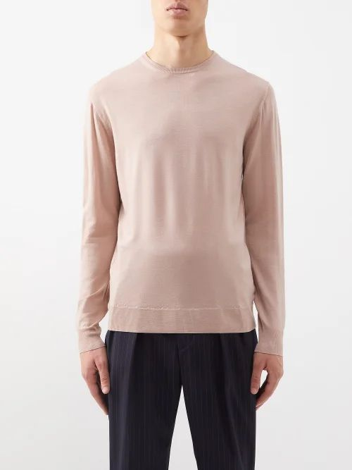 Fear Of God - Baggy Tie Waist Straight Fit Trousers - Mens - Grey