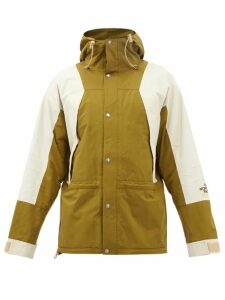 Marrakshi Life - Relaxed Fit Striped Cotton Blend Trousers - Mens - Black Navy