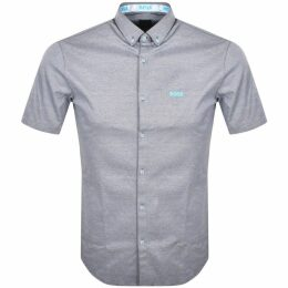 BOSS Athleisure Glaze Lowp Trainers Grey