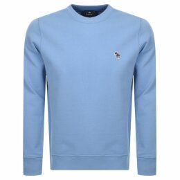 PS By Paul Smith Crew Neck Sweatshirt Blue