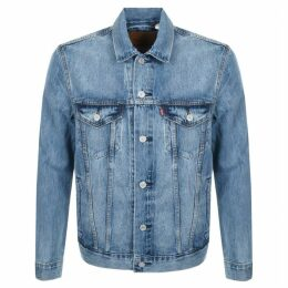 Levis Denim Trucker Jacket Blue