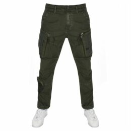 G Star Raw Arris Tapered Trousers Green