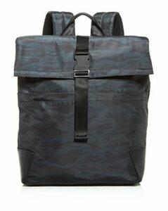 Cole Haan Sawyer Nylon Flap Backpack