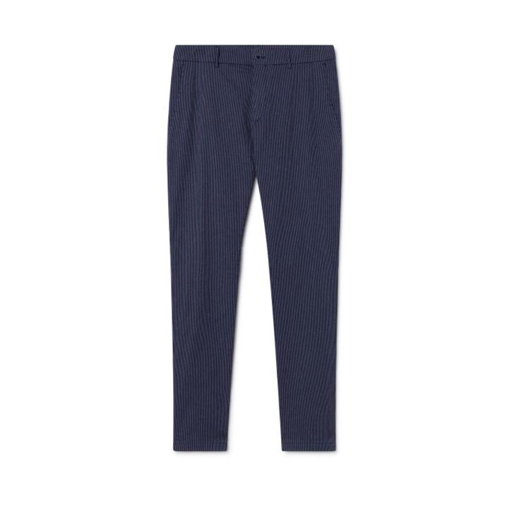 Hackett Stripe Stretch Cotton-blend Trousers