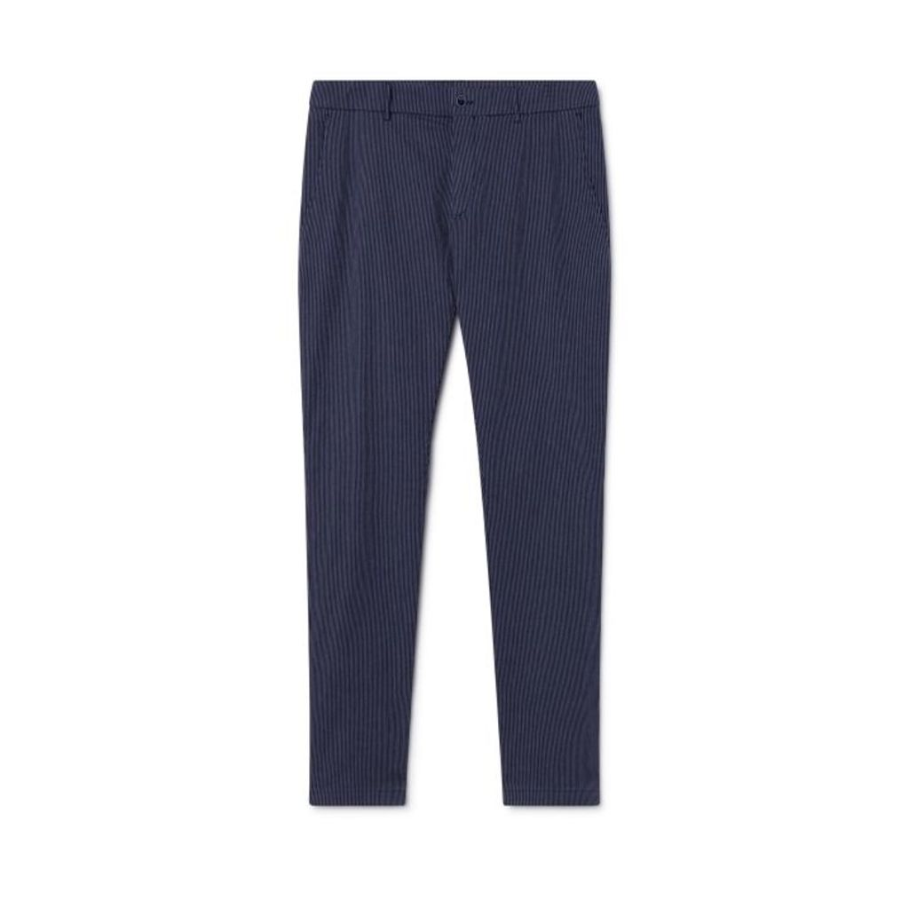Hackett Stripe Stretch Cotton-blend Trousers