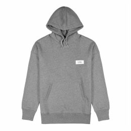Givenchy Grey Hooded Cotton Sweatshirt