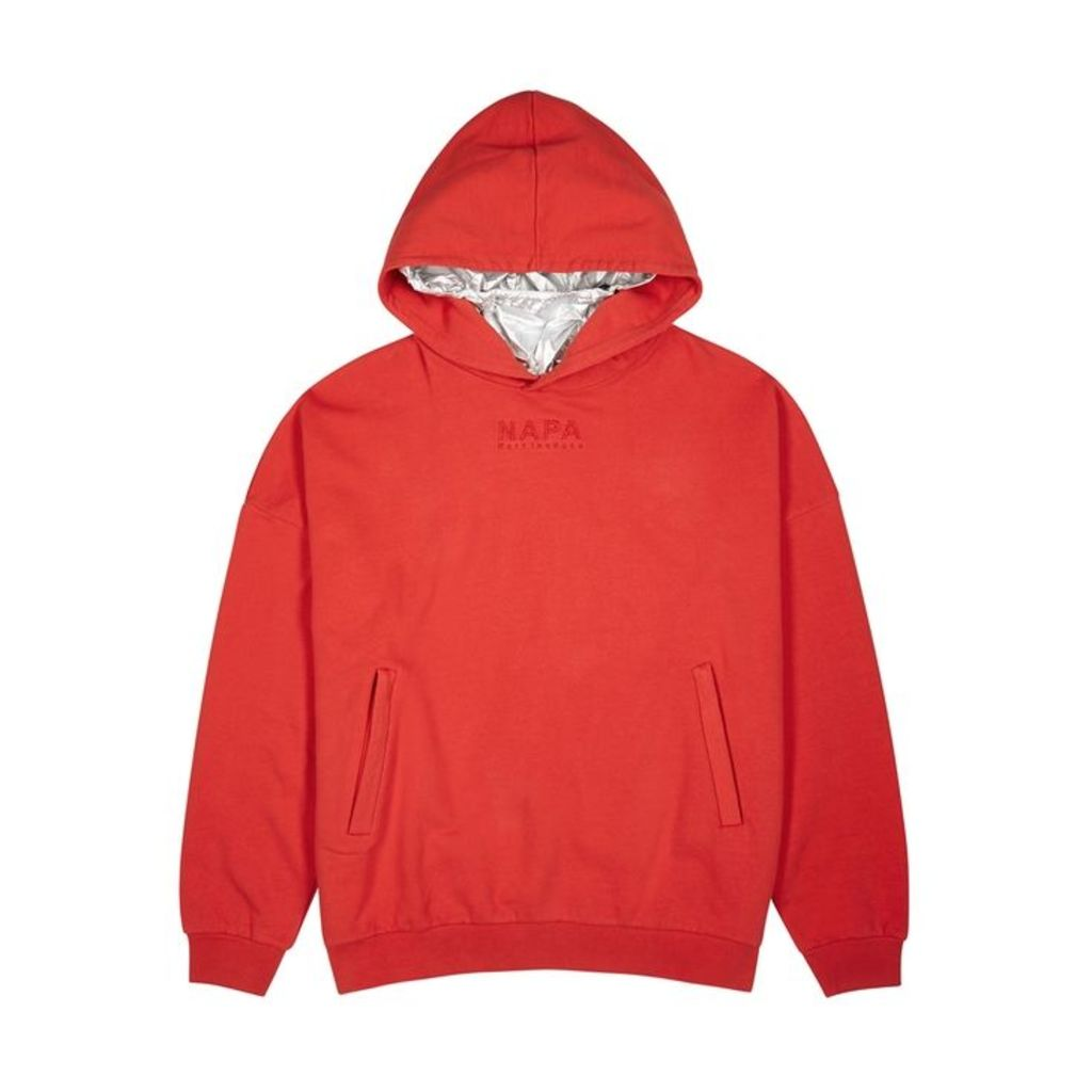 Napa By Martine Rose Red Cotton Sweatshirt