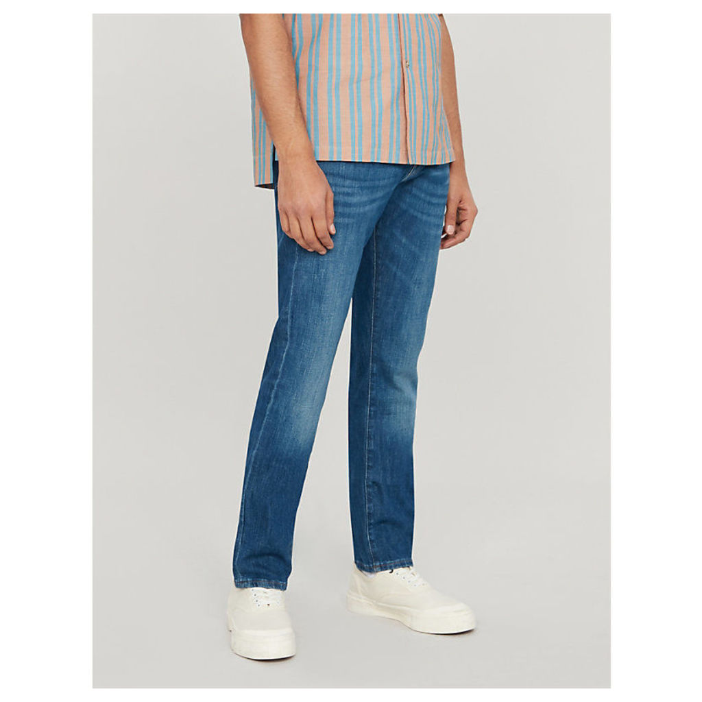 L'Homme faded skinny jeans