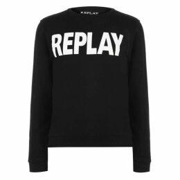 Replay Logo Crew Sweatshirt