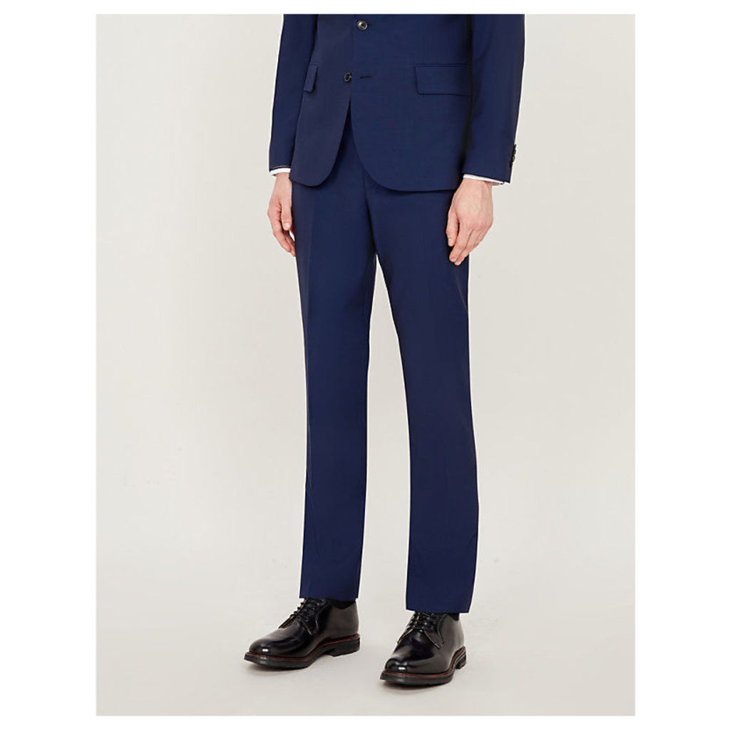 Soho-fit wool and mohair-blend trousers