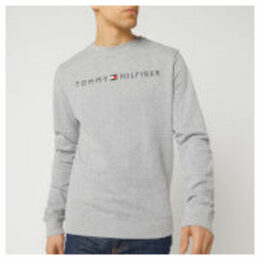 Tommy Hilfiger Men's Logo Sweatshirt - Grey Heather - XL