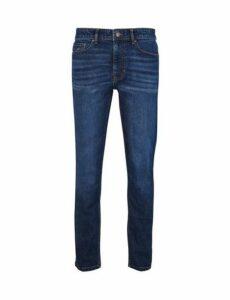 Mens Organic Mid Wash Blake Slim Fit Jeans, Blue