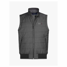 Tommy Hilfiger Quilted Gilet, Cloud Heather