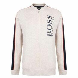 Boss Bodywear Panelled Zip Sweatshirt