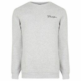 Mens River Island Grey marl Prolific slim fit sweatshirt