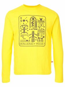 Walter Van Beirendonck Pre-Owned long-sleeved printed sweatshirt -
