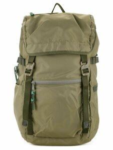 As2ov 210D nylon twill backpack - Green