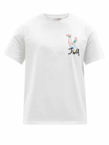 Gucci - Buckled Gg Perforated Leather Boots - Mens - Burgundy