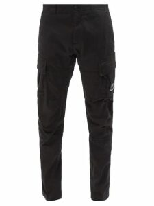 Y-3 - Luxe Topstitched Track Pants - Mens - Navy