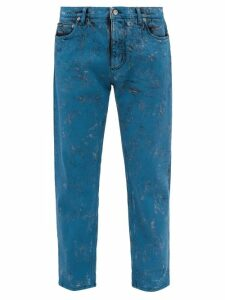 Givenchy - Atelier Patch Cotton Hooded Sweatshirt - Mens - Black