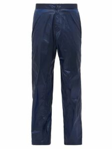Bianca Saunders - Pull Back Wide Leg Trousers - Mens - Blue