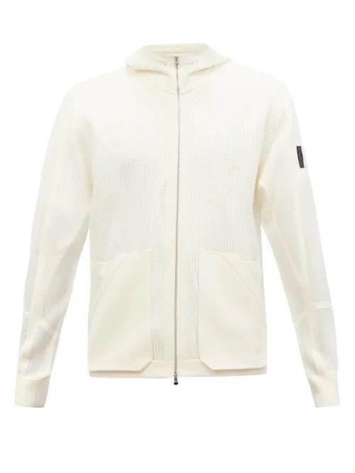 Ann Demeulemeester - Achilles High Rise Cotton Jacquard Trousers - Mens - White