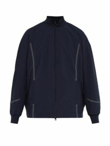 Y-3 - Lux Topstitched Track Jacket - Mens - Navy