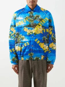 Fear Of God - Technical Panel Drawstring Cotton Trousers - Mens - Black