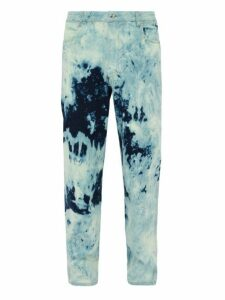 Eckhaus Latta - Tie Dye Mid Rise Jeans - Mens - Blue